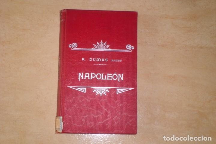 BIOGRAFIA DE NAPOLEON BONAPARTE, FINALES SIGLO XIX (Libros Antiguos, Raros y Curiosos - Biografías )