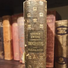 Libros antiguos: BIOGRAFÍA DE STEFAN ZWEIG. PLAZA & JANES. Lote 222582421