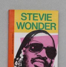 Libros antiguos: STEVIE WONDER// CASTELLANOS,J.- BARRAL,M.A.// EDICOMUNICACIÓN// BARCELONA, 1987. Lote 226231690