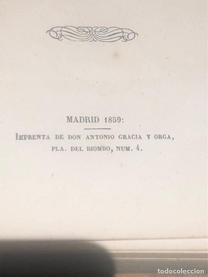 Libros antiguos: Tomo 1 y 2 de la novela de Cervantes 1859 - Foto 10 - 227942095