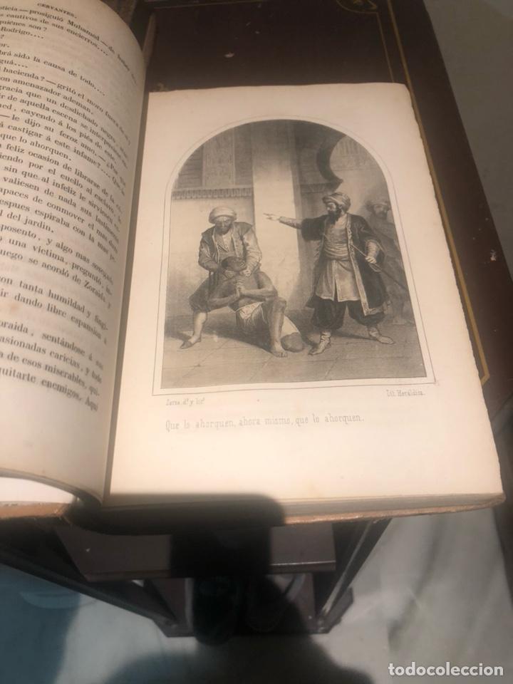 Libros antiguos: Tomo 1 y 2 de la novela de Cervantes 1859 - Foto 12 - 227942095