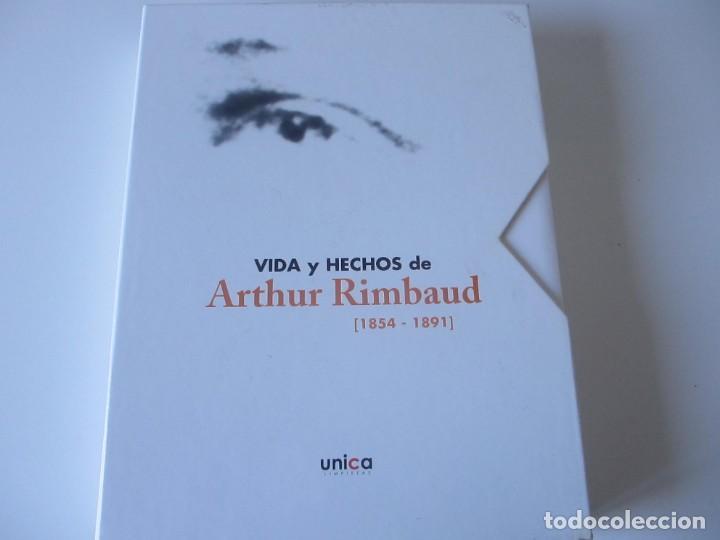 VIDA Y HECHOS DE ARTHUR RIMBAUD. 1854-1891. POESÍA. UNICA LIMPIEZAS (Libros Antiguos, Raros y Curiosos - Biografías )