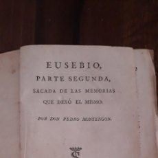 Libros antiguos: EUSEBIO. Lote 230219815