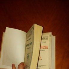 Libros antiguos: PIO BAROJA Y CLARA ROSA PRIMERA EDICIÓN 1933 ESPASA CALPE 2 EN 1 VIDAS ESPAÑOLAS E HISPANOAMERICANAS. Lote 233544270