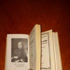 Libros antiguos: FERNAN CABALLERO + PEDRO ANTONIO DE ALARCON PRIMERA EDICIÓN 1933 VIDAS HISPANOAMERICANAS. Lote 233557825