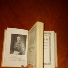 Libros antiguos: EL GENERAL SERRANO + CHESTE PRIMERA EDICIÓN 1929 VIDAS ESPAÑOLAS E HISPANOAMERICANAS SIGLO XIX. Lote 233559125