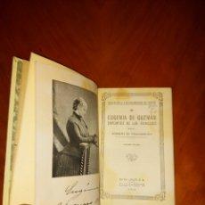 Libros antiguos: EUGÈNIA DE GUZMÁN MARQUÉS DE VILLA-URRUTIA SEGUNDA EDICIÓN 1932 ESPASA CALPE. Lote 233570650
