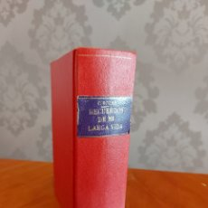 Libros antiguos: RECUERDO DE MI LARGA VIDA CONRADO ROURE TRES TOMOS EN UNO 1925 1926 1927. Lote 234303330