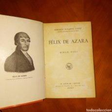 Libros antiguos: FÉNIX DE AZARA SIGLO XVIII ENRIQUE ÁLVAREZ LÓPEZ M. AGUILAR. Lote 234573700