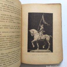 Libros antiguos: VIDA DE LA BIENAVENTURADA JUANA DE ARCO. ILUSTRADA CON 32 GRABADOS. BARCELONA, 1910. Lote 234982425