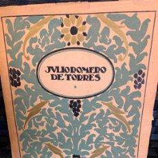Libros antiguos: JULIO ROMERO DE TORRES LIBRO 28 LAMINAS TIPOGRAFIA. Lote 235124605