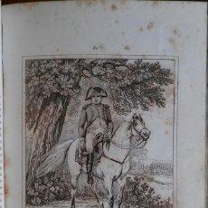 Libros antiguos: HISTORIA DEL EMPERADOR NAPOLEÓN. BARCELONA, 1839. MAGNÍFICA EDICIÓN CON 90 LÁMINAS. Lote 235240745