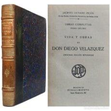 Libros antiguos: 1921 - VIDA Y OBRAS DE DIEGO VELÁZQUEZ - JACINTO OCTAVIO PICÓN - ARTE, PINTURA ESPAÑOLA, BIOGRAFÍA. Lote 235372975