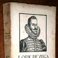 Libros antiguos: LOPE DE VEGA, SUS AMORES Y SUS ODIOS POR FRANCISCO A. DE ICAZA DEL ADELANTADO DE SEGOVIA S/F (1927). Lote 236748360