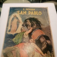 Libros antiguos: SAN PABLO, DE ERNESTO RENAN. Lote 236955655