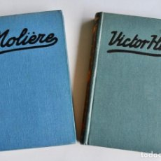 Libros antiguos: JOSÉ ESCOFET. MOLIERE Y SU OBRA. A. HERRERO MIGUEL. VICTOR HUGO. SOCIEDAD GENERAL PUBLICACIONES.1928. Lote 237326570