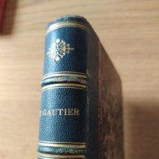 Livros antigos: MADEMOISELLE DE MAUPIN. GAUTIER THÉOPHILE. PARIS, CHARPENTIER ET CIE, 1871, IN-12. Lote 238027590