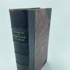 Libros antiguos: COMTE D´ HAUSSONVILLE. MADAME DE STAËL ET M. NECKER...1925. Lote 243549775