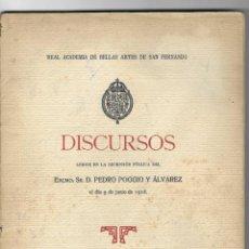 Libros antiguos: PERSONALIDAD DE D. FRANCISCO FERNÁNDEZ Y GONZÁLEZ ( ALBACETE 1833). PEDRO POGGIO Y ALVAREZ. Lote 245312795