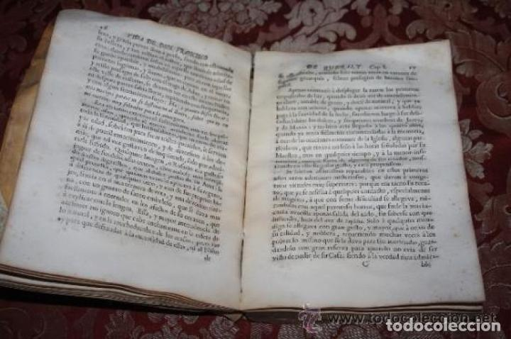 Libros antiguos: HEROICA VIDA Y EXEMPLARES DE FRANCISCO DE QUERALT. MIGUEL CONILL. 1736. - Foto 5 - 245768825