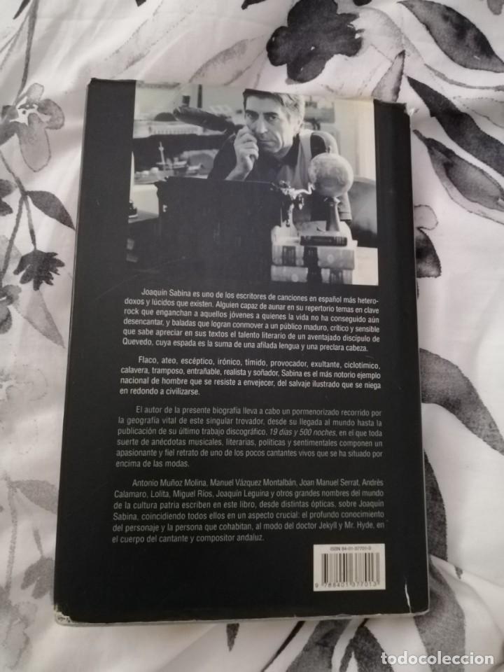 Libros antiguos: Joaquín Sabina, perdonen la tristeza por Javier Menéndez Flores - Foto 2 - 248273935