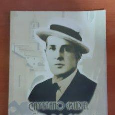 """Livres anciens: CAYETANO MURIEL """"NIÑO DE CABRA """". Lote 249289755"""