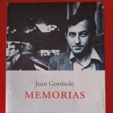 Libros antiguos: JUAN GOYTISOLO, MEMORIAS / EDI. PENÍNSULA - ATALAYA / 1ª EDICIÓN 2002. Lote 250119585