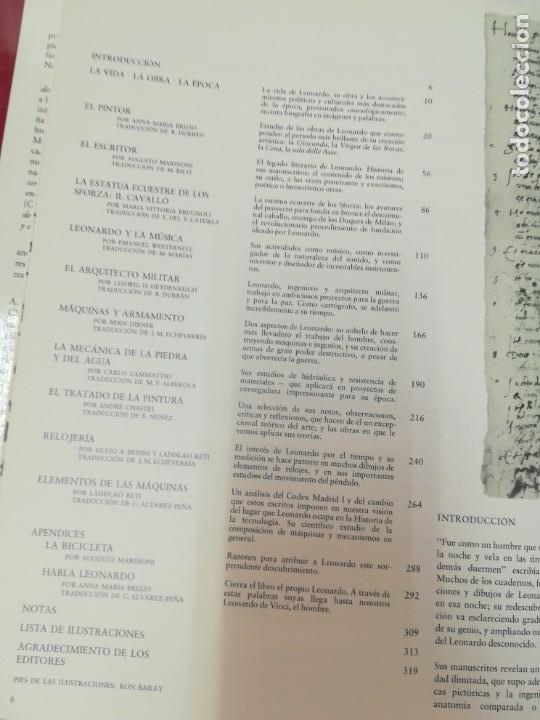Libros antiguos: Leonardo, el desconocido SA3358 - Foto 2 - 250122255