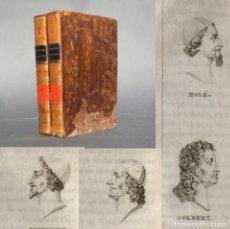 Livres anciens: AÑO 1828 - NAPOLEON - CARLOMAGNO - FELIPE AUGUSTO- BIOGRAFIAS DE FRANCESES ILUSTRES -. Lote 251197620