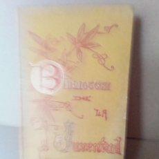 Libros antiguos: MARIA ESTUARDO. REINA DE ESCOCIA - BIBLIOTECA DE LA JUVENTUD -AÑO 1.890 - VER FOTOS. Lote 256014790