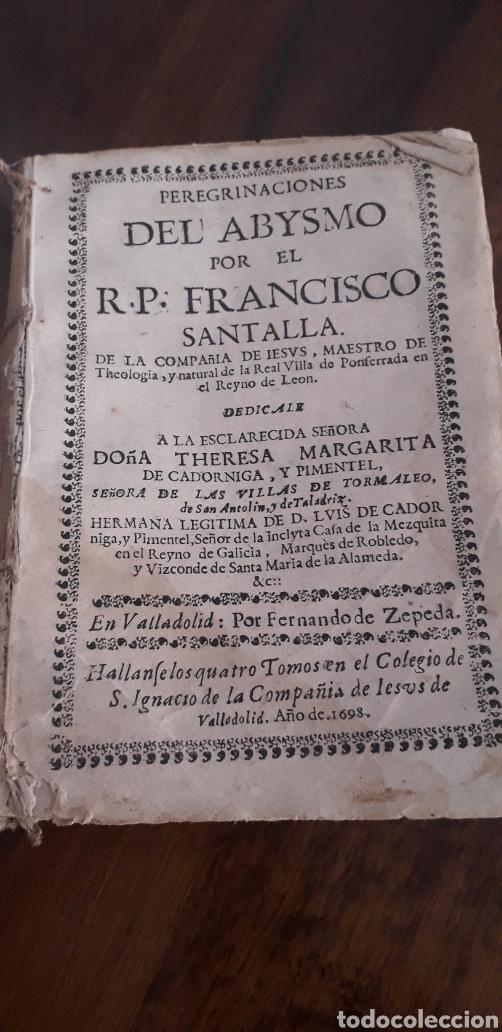 PERE DEL ABISMO- FANCISCO SANTALLA (Libros Antiguos, Raros y Curiosos - Biografías )