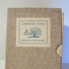 Libros antiguos: ROBERT D'AUSONA. ESPURNES DE L'ESPERIT. EDICIONS ESTOIG SELECTE. BARCELONA 1935. Lote 262347770