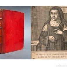 Libros antiguos: LIBRO VIDA DE SOR JOSEFA INÉS DE BENIGANIM - 1882 - FELIPE BENAVENT - VALENCIA - MILAGROS.. Lote 262991430