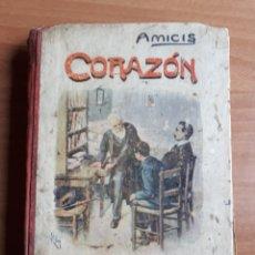 Libri antichi: CORAZÓN. DIARIO DE UN NIÑO. EDMUNDO DE AMICIS. Lote 266351678