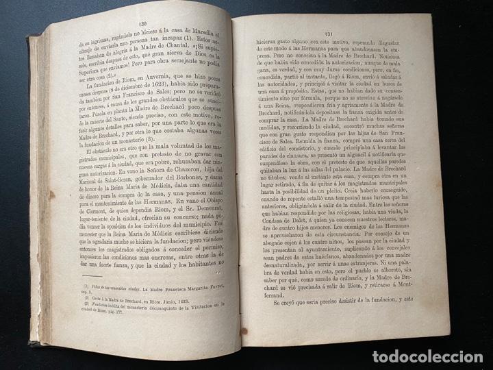 Libros antiguos: HISTORIA DE SANTA JUANA FRANCISCA FREMIOT. EM. BOUGAUD. 2ª ED. TOMO II. MADRID, 1880 - Foto 7 - 268036824