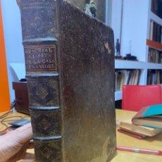 Libros antiguos: 1696.- MEMORIAL AL REY DE LA CASA BENAVIDES. OBRA MONUMENTAL. MUY RARA. GENIALOGIAS. NO BNE.. Lote 269031439