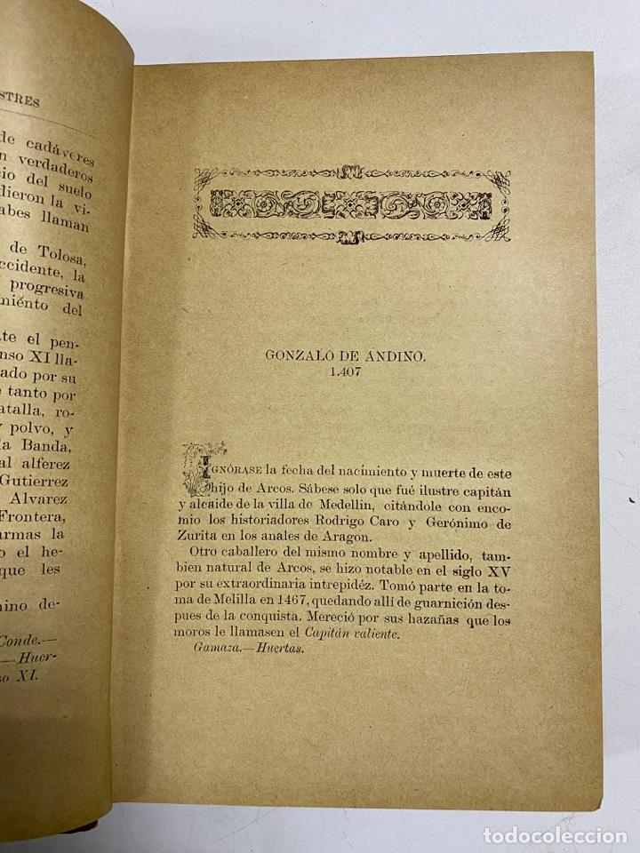 Libros antiguos: GALERIA DE ARCOBRICENSES ILUSTRES. MIGUEL MANCHEÑO Y OLIVARES. ARCOS DE LA FRA., 1892. PAGS: 592 - Foto 7 - 269358908