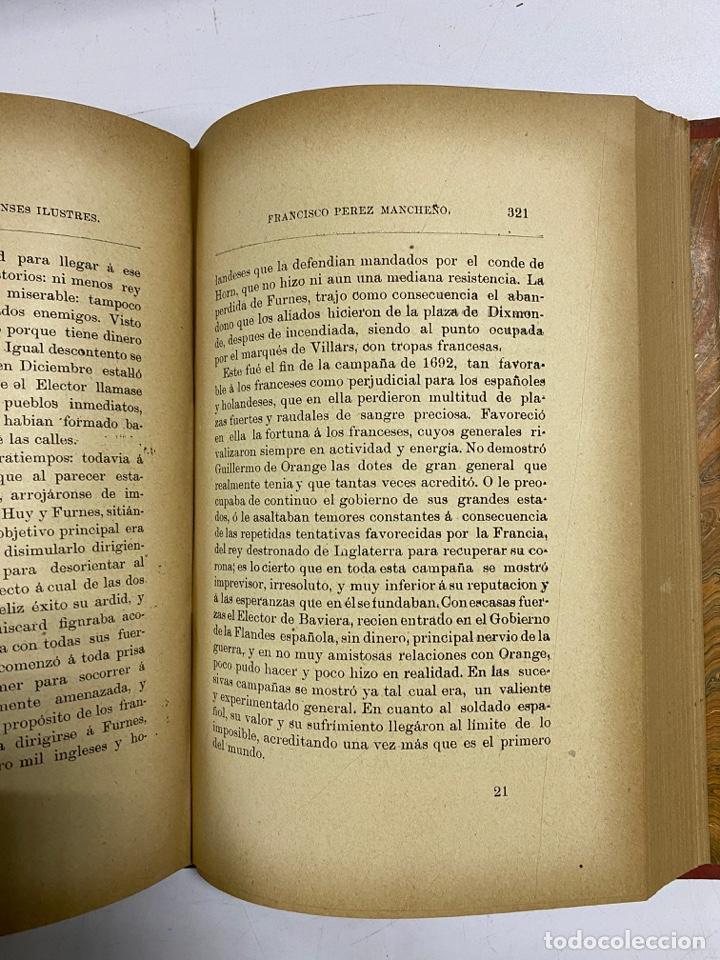 Libros antiguos: GALERIA DE ARCOBRICENSES ILUSTRES. MIGUEL MANCHEÑO Y OLIVARES. ARCOS DE LA FRA., 1892. PAGS: 592 - Foto 10 - 269358908