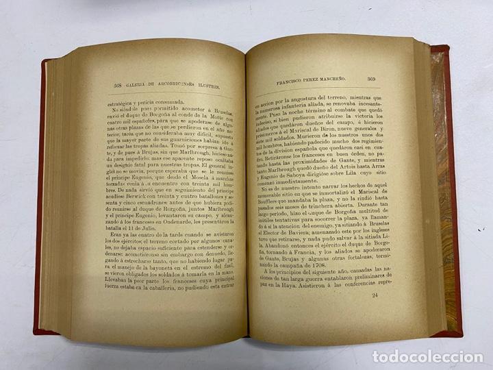 Libros antiguos: GALERIA DE ARCOBRICENSES ILUSTRES. MIGUEL MANCHEÑO Y OLIVARES. ARCOS DE LA FRA., 1892. PAGS: 592 - Foto 11 - 269358908