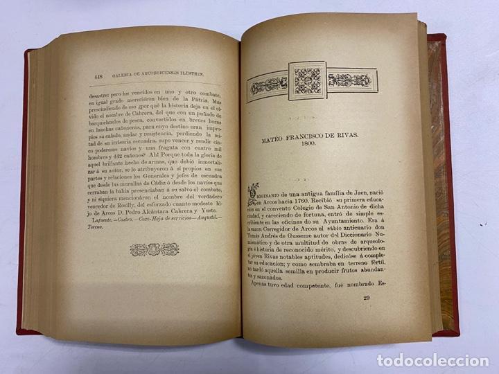 Libros antiguos: GALERIA DE ARCOBRICENSES ILUSTRES. MIGUEL MANCHEÑO Y OLIVARES. ARCOS DE LA FRA., 1892. PAGS: 592 - Foto 12 - 269358908