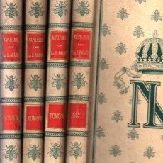 Libros antiguos: SAINT AMAND : NAPOLEON III - 4 TOMOS (MONTANER Y SIMÓN, 1899). Lote 269441758