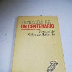 Libros antiguos: CLAUSURA DE UN CENTENARIO. GUIA BIBLIOGRAFICA DE AZORÍN. FERNANDO SAINZ DE BUJANDA. SELECTA-50.. Lote 270871558