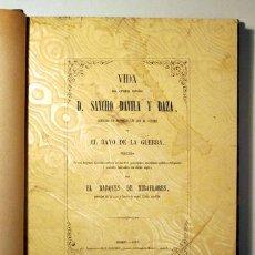 Livres anciens: MARQUÉS DE MIRAFLORES - VIDA DEL GENERAL ESPAÑOL D. SANCHO DAVILA Y DAZA - MADRID 1857. Lote 272706143