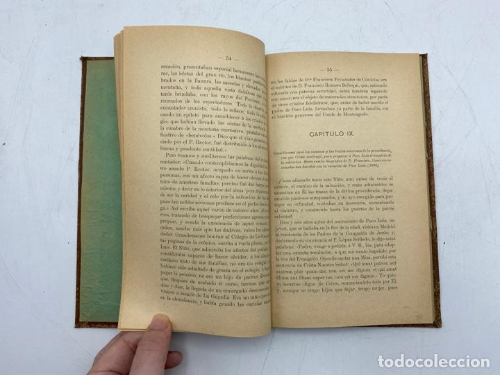 Libros antiguos: VIDA DEL JOVEN FRANCISCO ROMERO Y FERNANDEZ DE CORDOBA. HNO. RAFAEL DE LOS REYES. JEREZ, 1905 - Foto 7 - 276254298