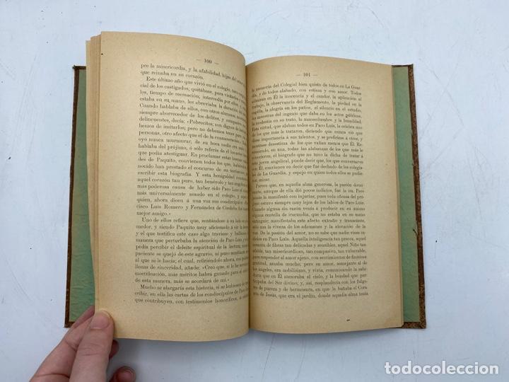 Libros antiguos: VIDA DEL JOVEN FRANCISCO ROMERO Y FERNANDEZ DE CORDOBA. HNO. RAFAEL DE LOS REYES. JEREZ, 1905 - Foto 8 - 276254298
