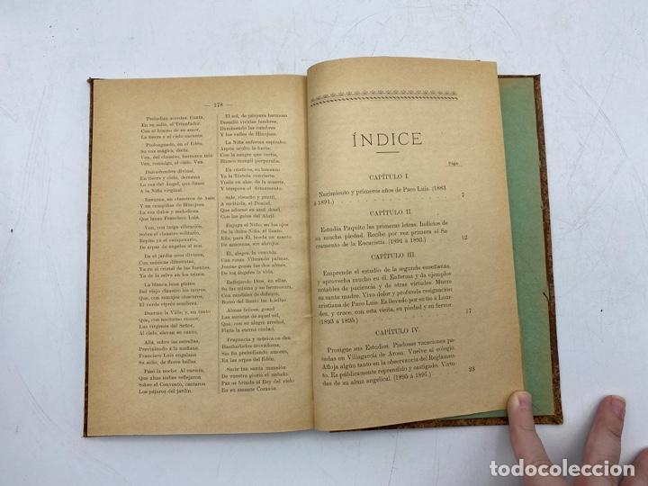 Libros antiguos: VIDA DEL JOVEN FRANCISCO ROMERO Y FERNANDEZ DE CORDOBA. HNO. RAFAEL DE LOS REYES. JEREZ, 1905 - Foto 9 - 276254298