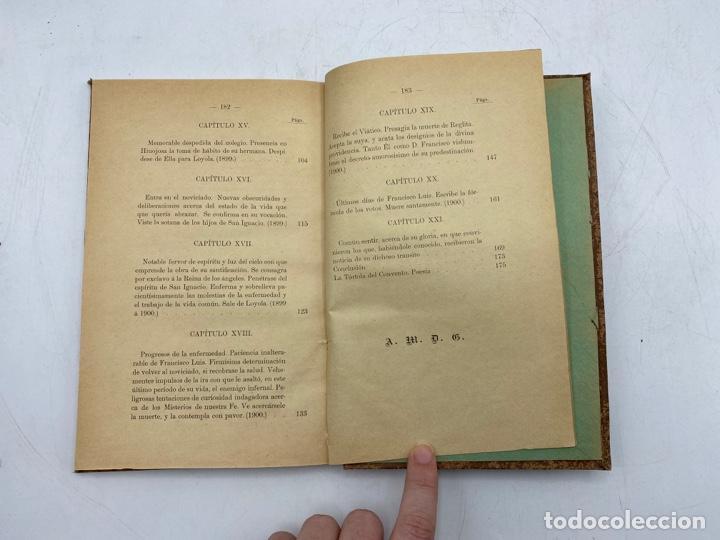 Libros antiguos: VIDA DEL JOVEN FRANCISCO ROMERO Y FERNANDEZ DE CORDOBA. HNO. RAFAEL DE LOS REYES. JEREZ, 1905 - Foto 11 - 276254298