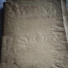 Libros antiguos: DICCIONARIO BIOGRÁFICO DE ARTISTAS VALENCIANOS. Lote 277175953