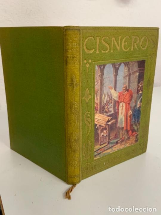 Libros antiguos: EL CARDENAL CISNEROS - LOS GRANDES HOMBRES - P. FÉLIZ GRACÍA - Foto 5 - 277716278