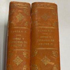 Libros antiguos: NIÑEZ Y JUVENTUD DE FELIPE II. TOMO I Y II. DOCUMENTOS INEDITOS. JOSE M. MARCH. MADRID, 1941.. Lote 286263003
